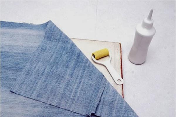 Porta Trecos Criativo Feito Com Jeans Revista Artesanato