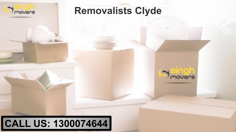 removalists clyde
