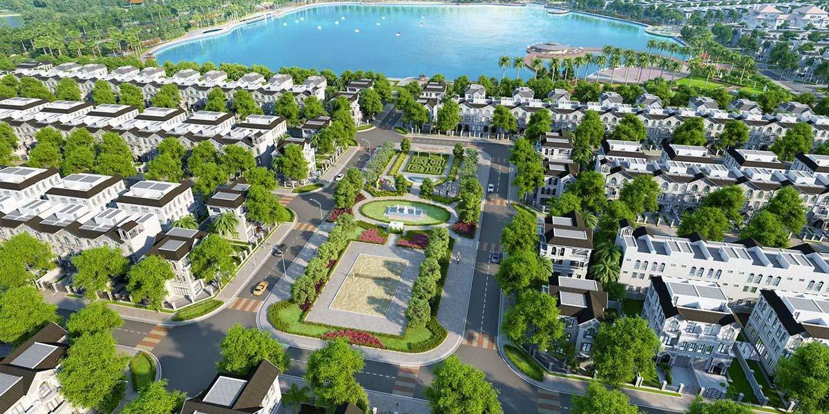 Quy hoạch biệt thự tại dự án Vinhomes Dream City