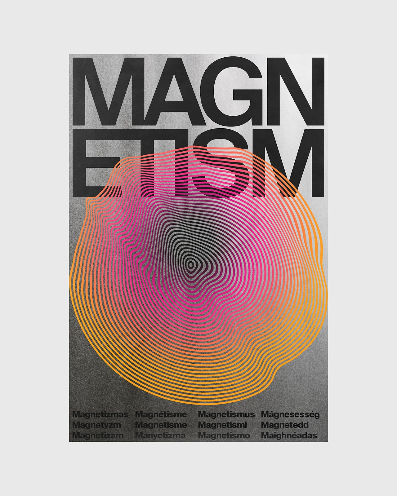 Magnetism poster by Xtian Miller