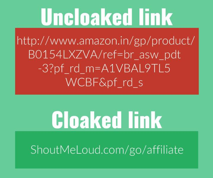 Link Cloaking Example