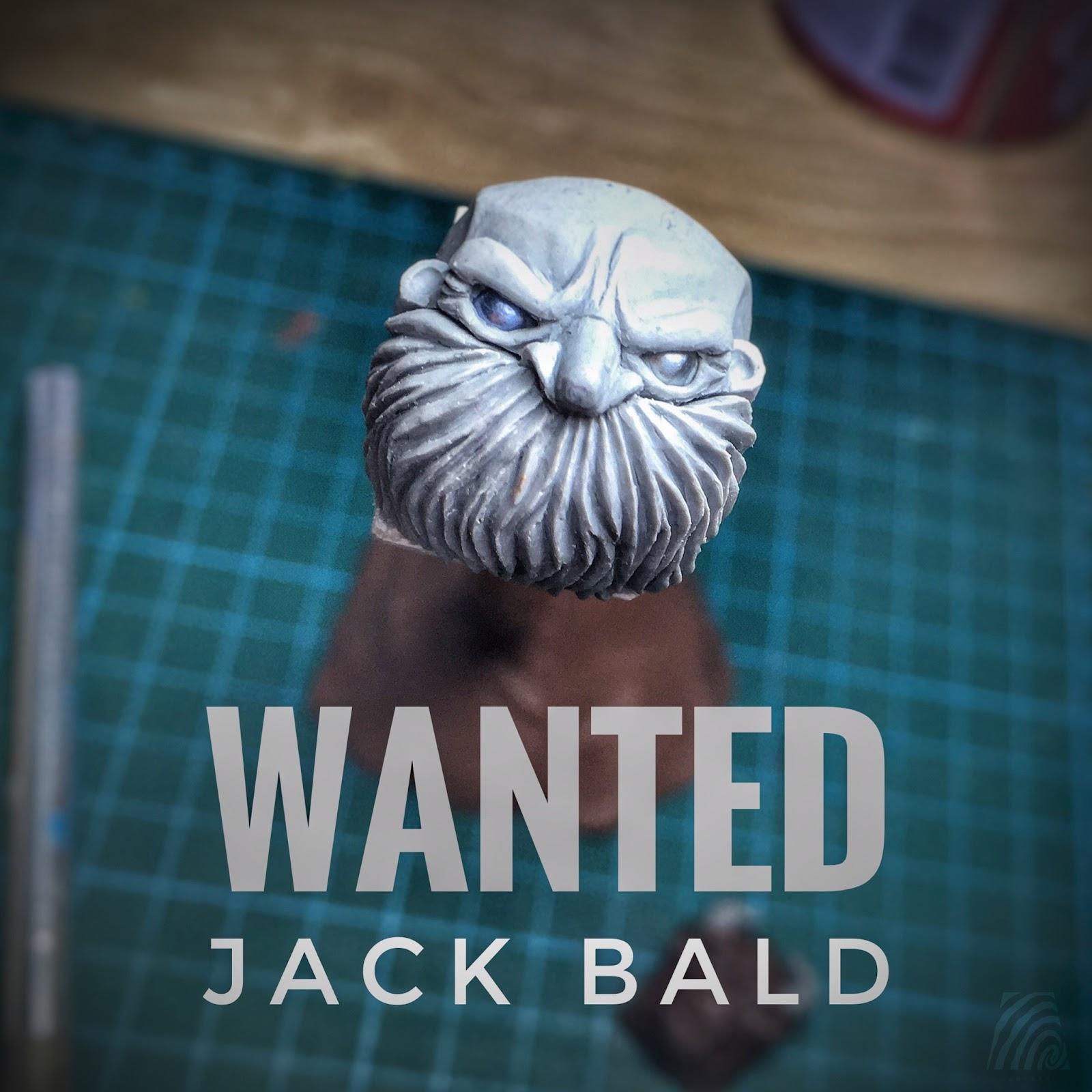 Artkey - Master Jack Bald
