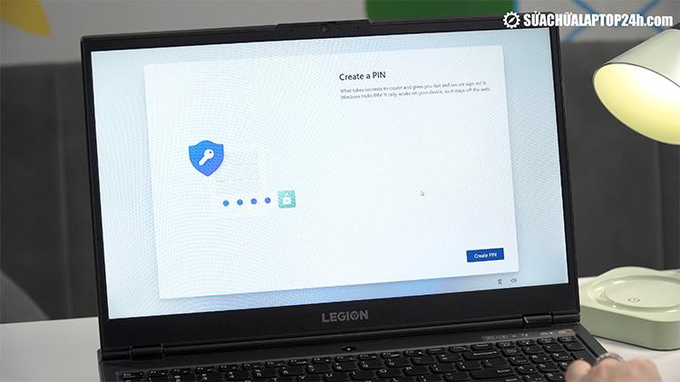 Thiết lập mã pin trên Windows 11