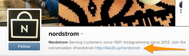 nordstrom shoppable instagram