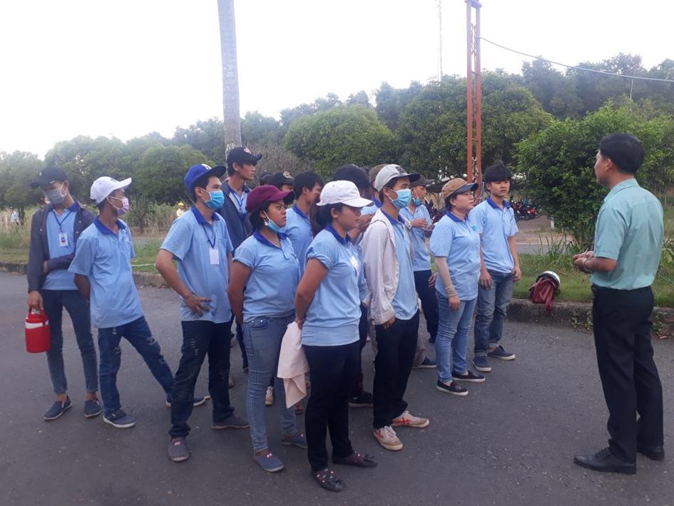 Nguồn lực lao động của Hưng Thịnh Phú được chú trọng từ khâu tuyển dụng