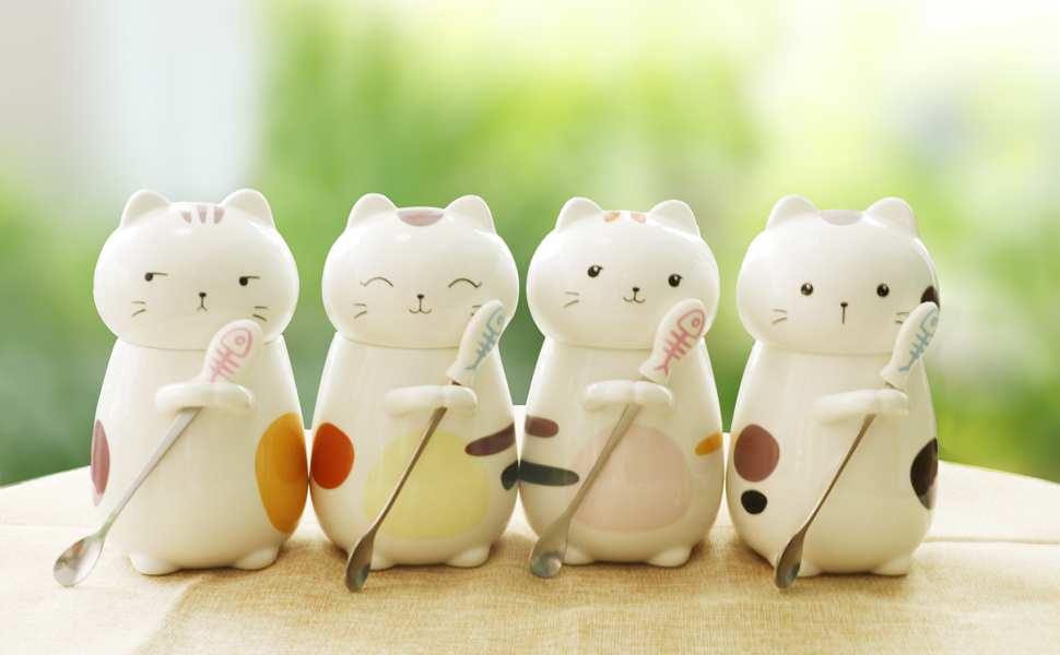 cute gifts for cat lovers and coffee lovers