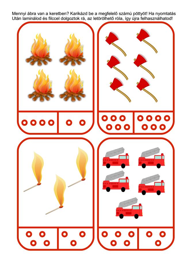 nyomtatható feladatlapok tűzről