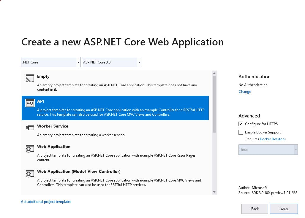 Asp Net Core 3 0 web API token based authentication example using