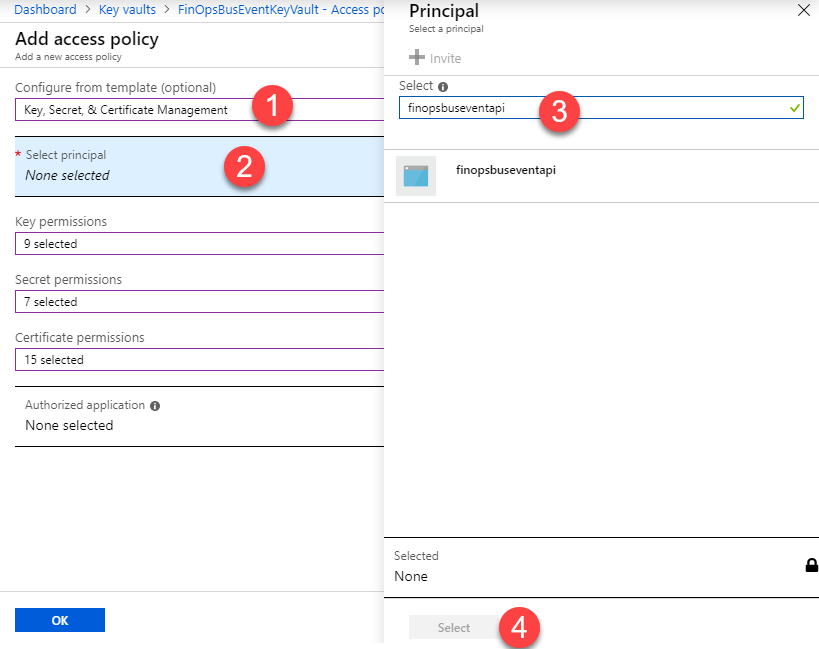 Detailed guide on creating Business Events with Azure Service Bus