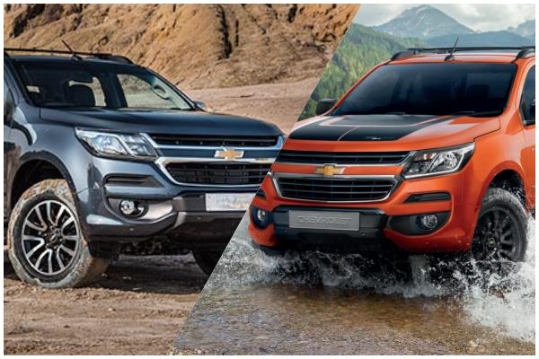 Chevrolet Colorado High country (ซ้าย) และ High country storm (ขวา)