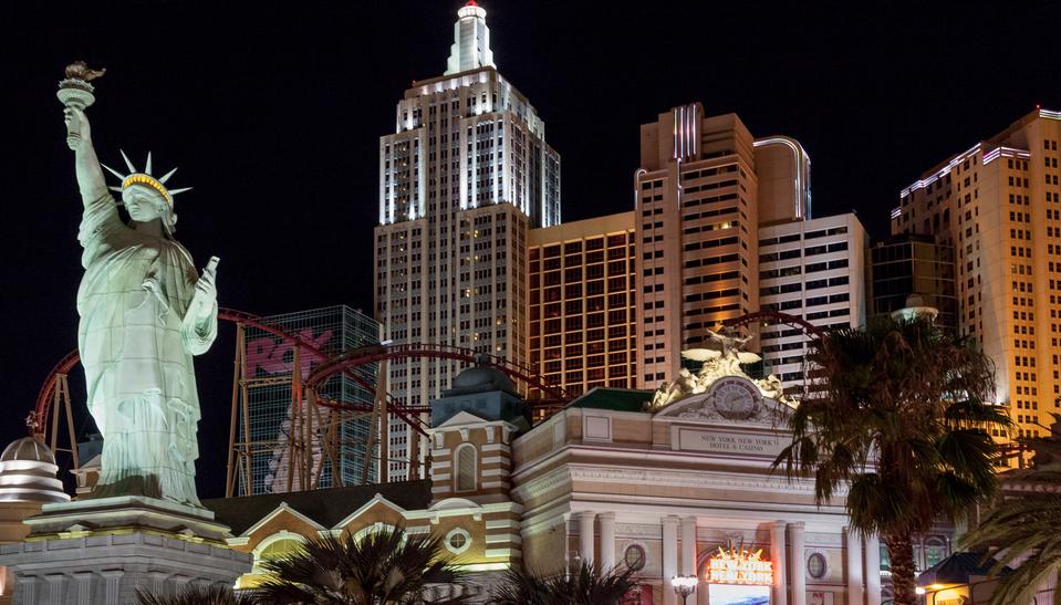 New York - New York Hotel, Las Vegas