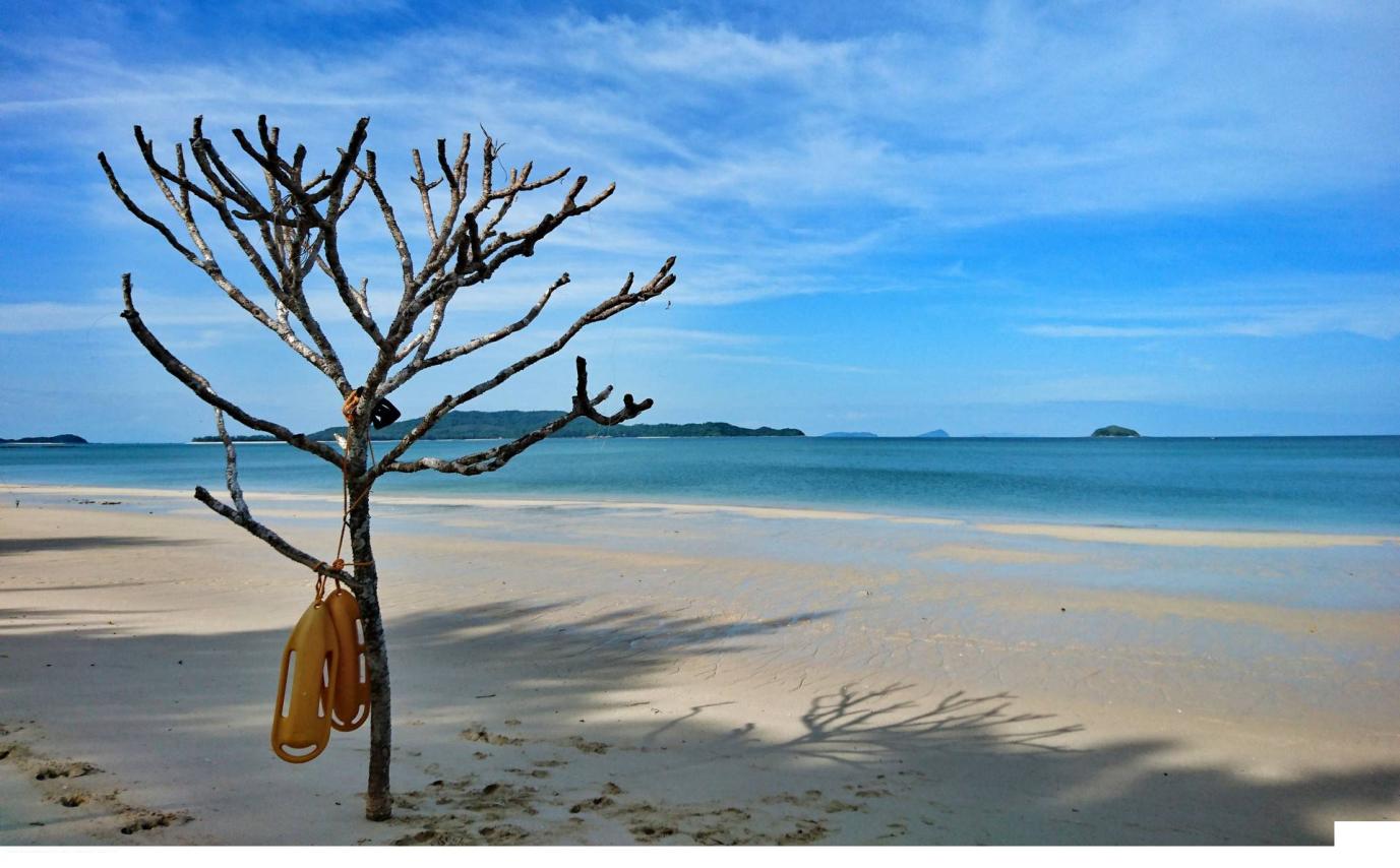 Vẻ đẹp mê hồn của bờ biển Vàn Chảy