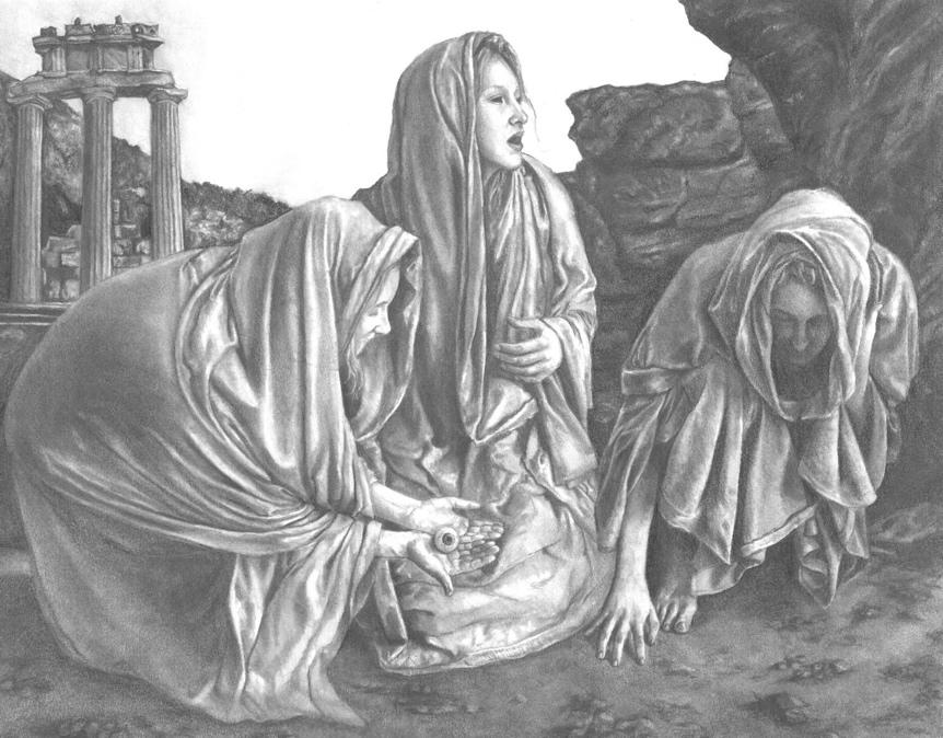 Γκέρα |  Παγκόσμια μυθολογία, grai, μυθολογία