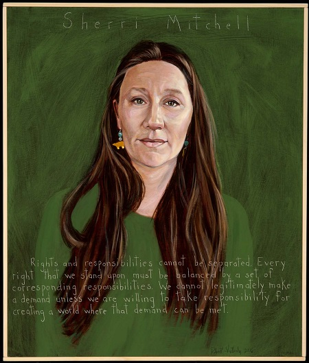 Sherri Mitchell Portrait by Robert Shetterly.jpg