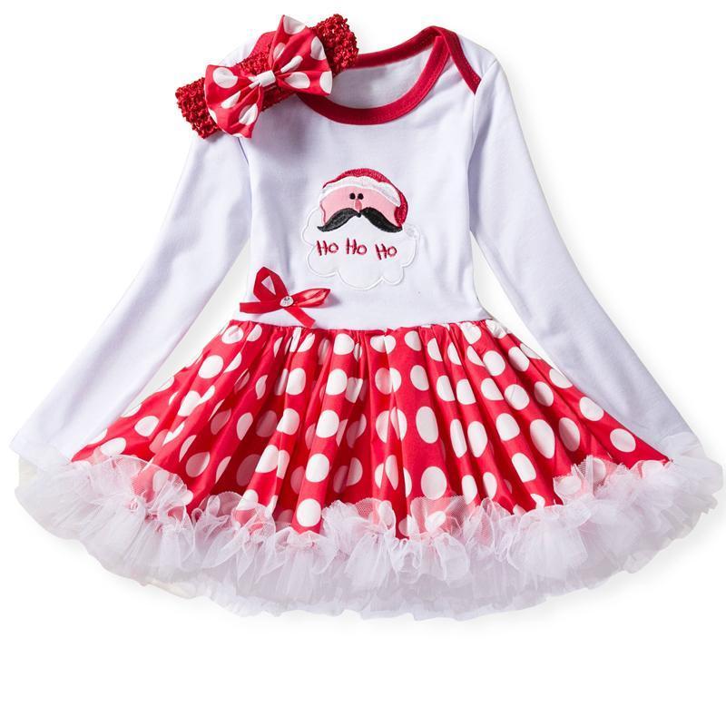 Sukienka swiateczna mikołajka dla dziewczynki - Sukienka dla dziewczynki na swieta  10