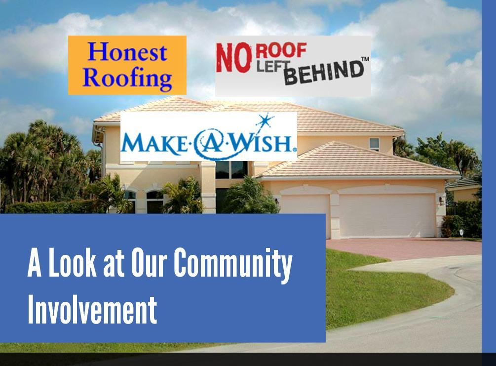 A Look At Our Community Involvement