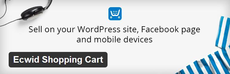 Ecwid is an interactive and simplified shopping cart plug-in