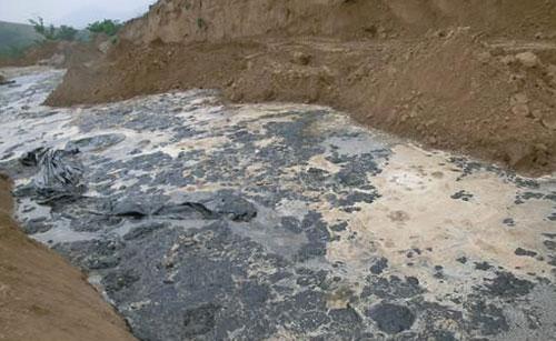 Oil field sewage