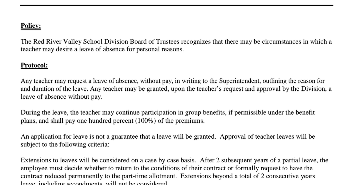 GCCA Extended Leave of Absence Teachers pdf - Google Drive