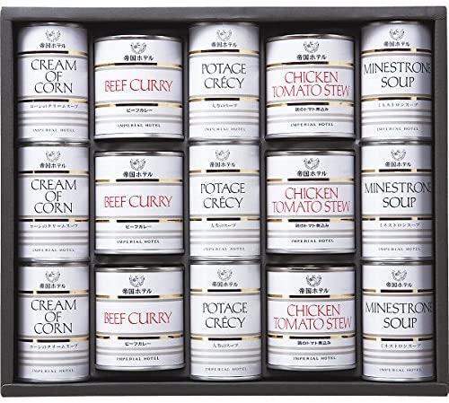 帝国ホテル スープ調理缶詰合せ