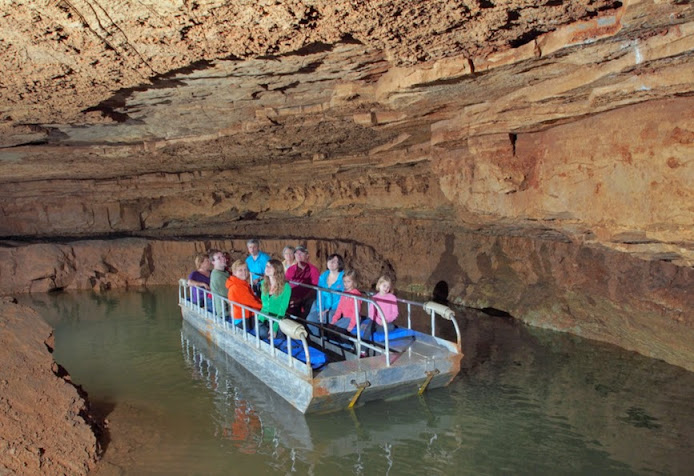 Indiana Caverns Boat Tour in Corydon, Indiana