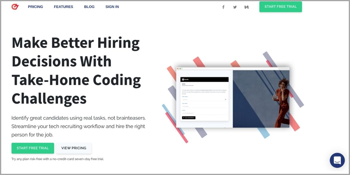 codesubmit homepage