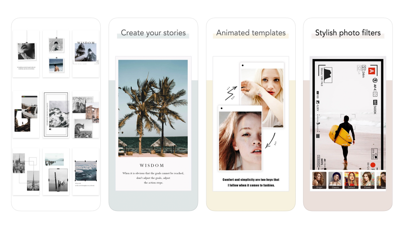 Storychic App - Learn How to Make Personalized Stories for Instagram with This App