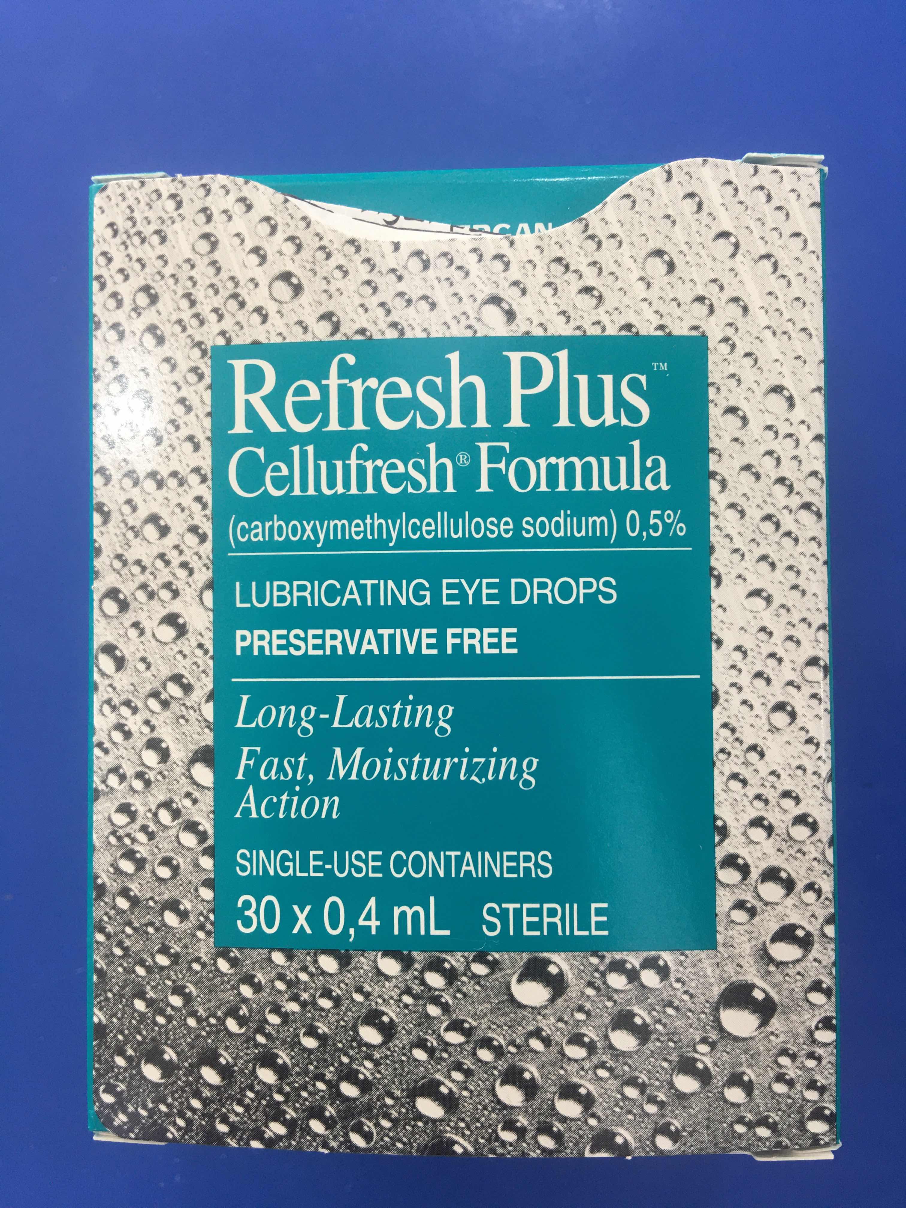 الفرق بين قطرة ريفريش و ريفريش بلص ريفريش الاخضر والازرق Refresh Plus Refresh