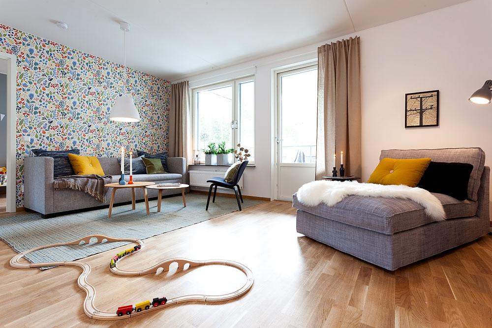 Стены в стиле хюгге: 4 варианта отделки в скандинавском интерьере