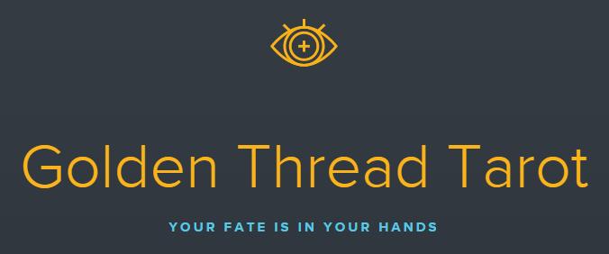 Golden Thread Tarot logo Banner