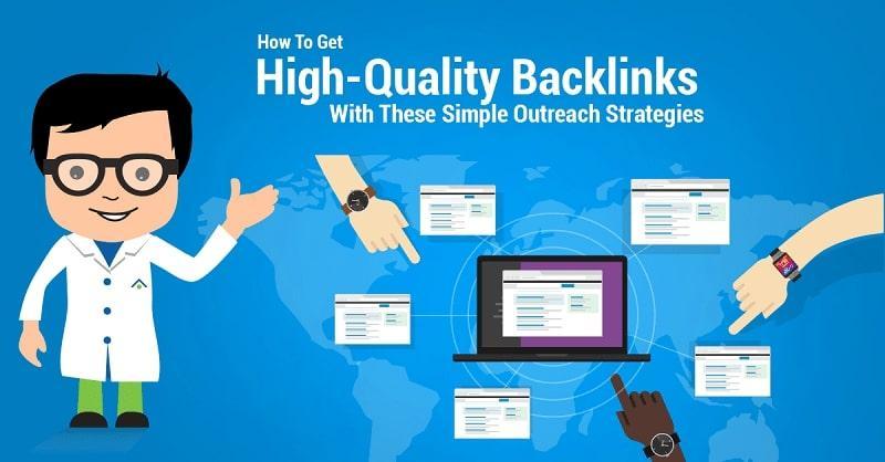 Hướng dẫn bạn một vài cách đặt backlink