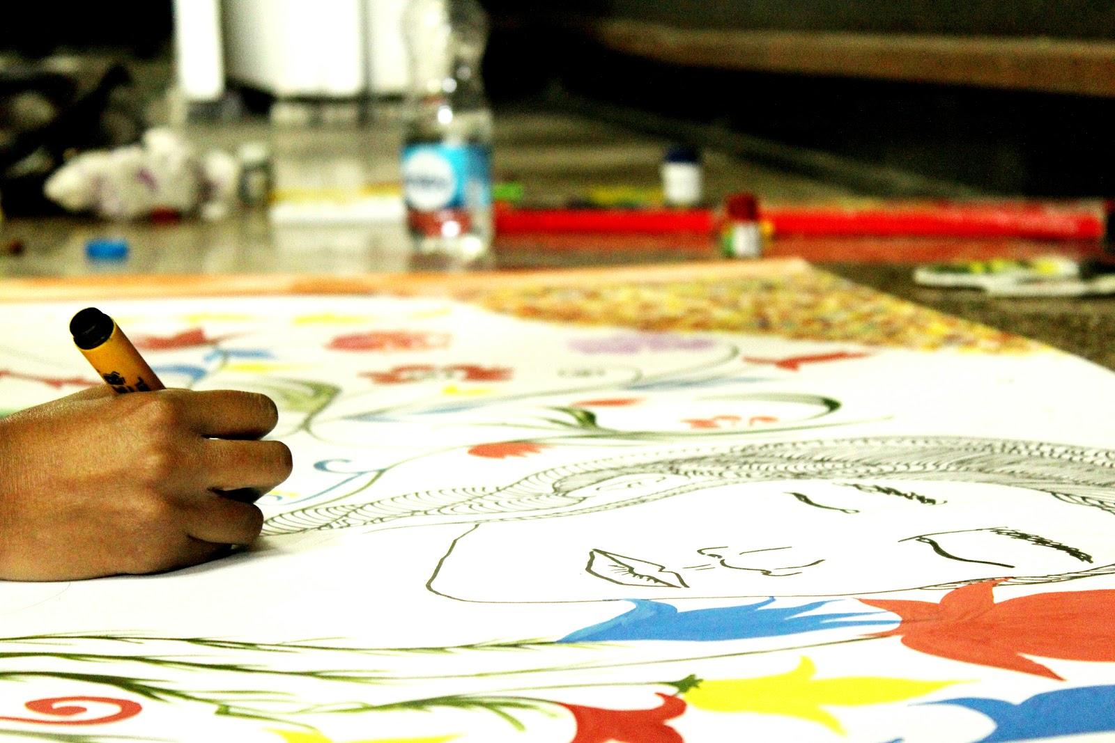 School of Fashion Design Organised A \'Street Art, Graffiti and Wall ...
