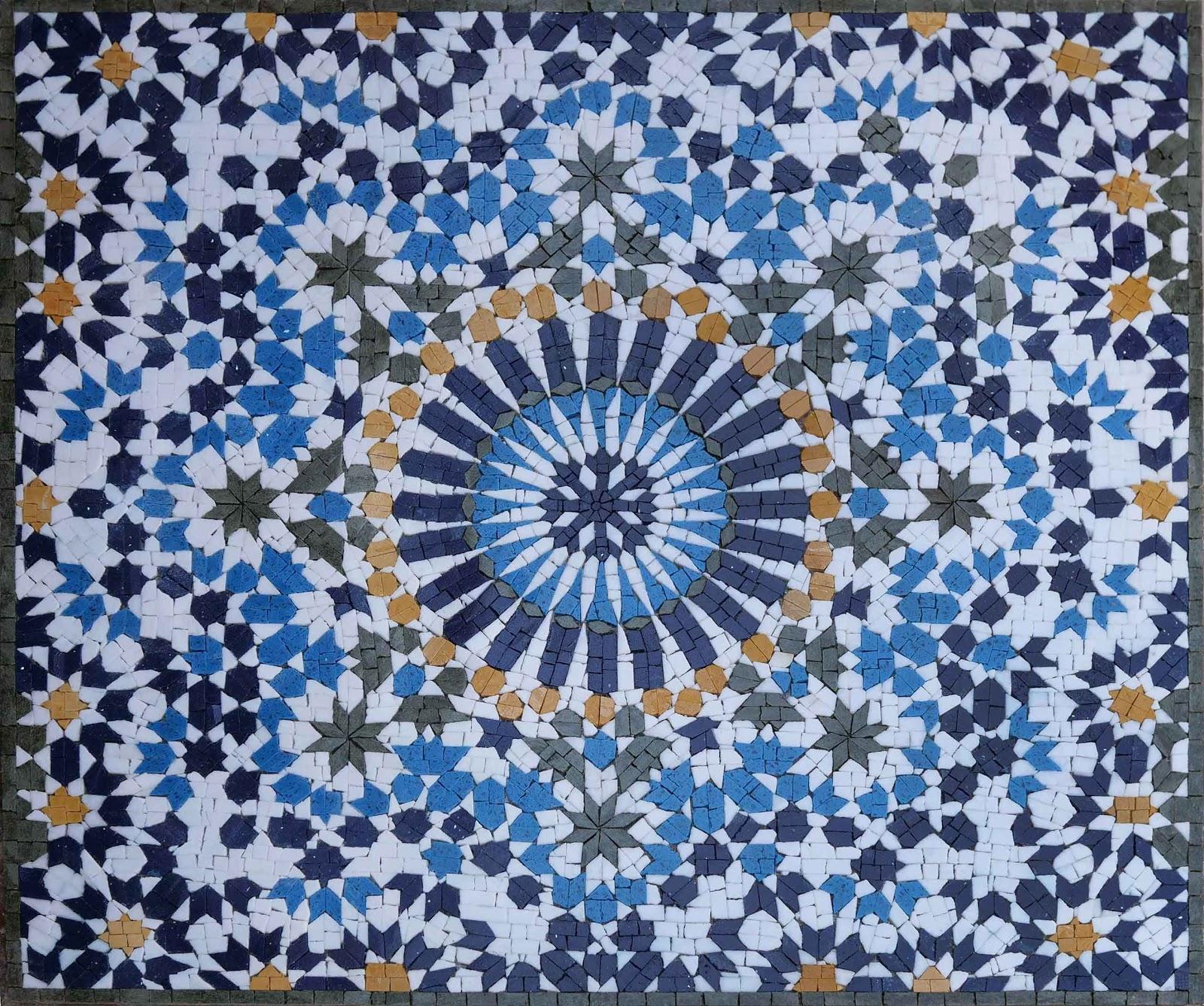 Stella - Geometric Mosaic Pattern by Mozaico