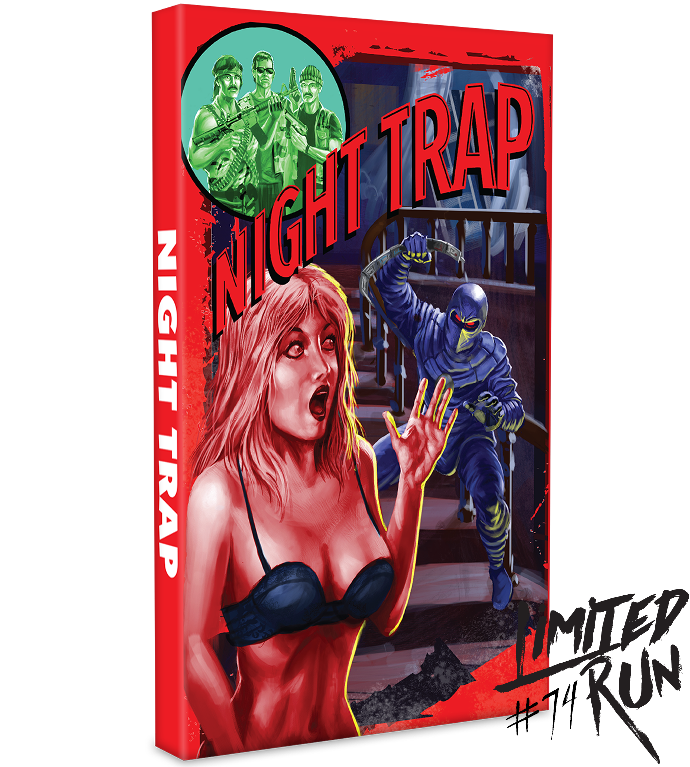 Image result for night trap limited run games