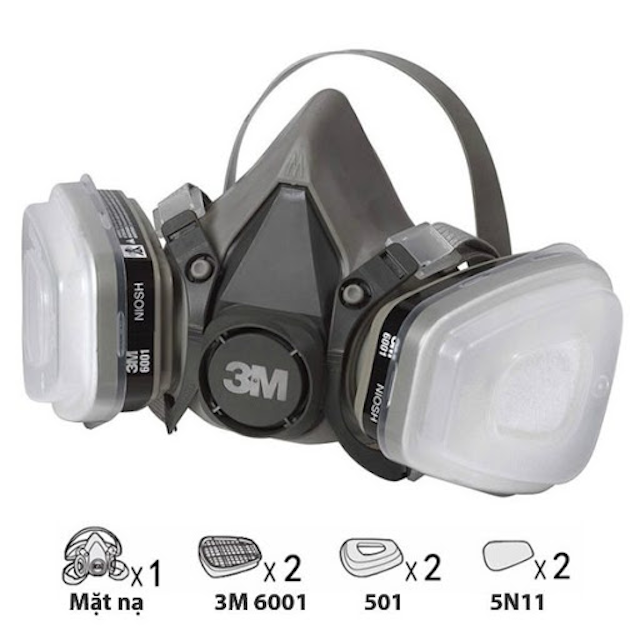 Địa chỉ bán mặt nạ 3m chất lượng cao tại TPHCM