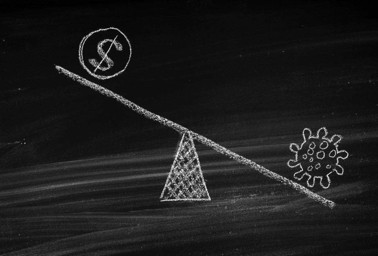 Investment COVID Balancing Act