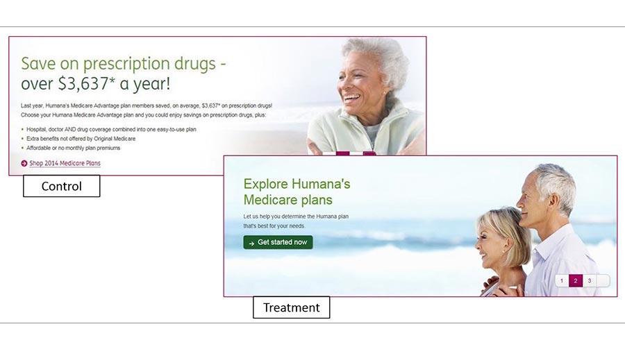 Humana banner ad