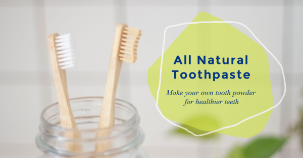 Healthy Peace of Mind All Natural Toothpaste