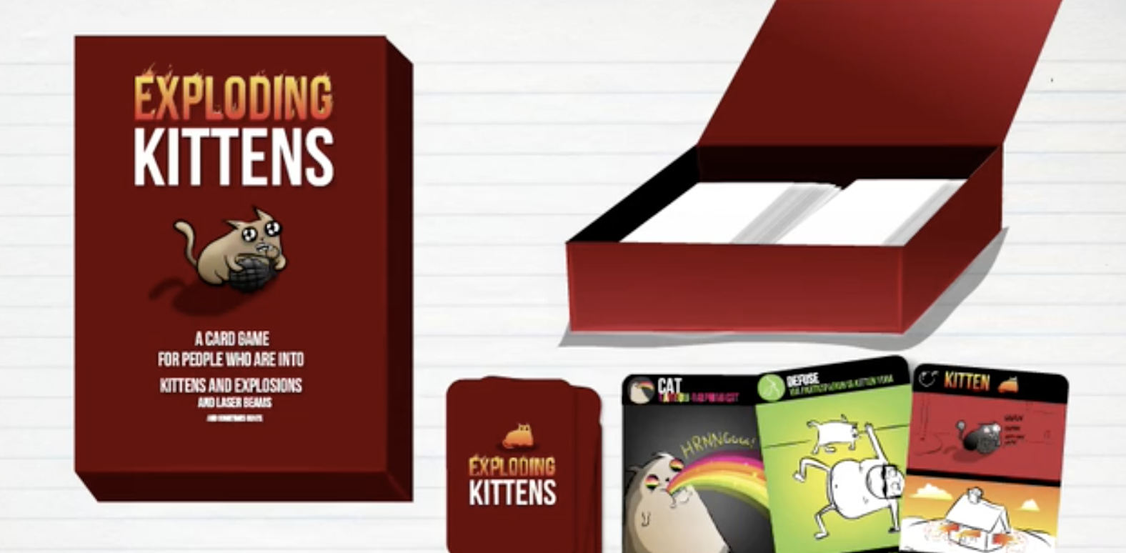 Exploding Kittens is one of the most successful kickstarter campaigns.