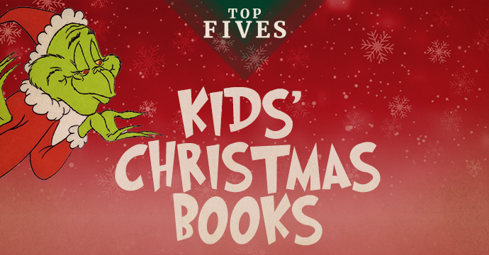 top five kids christmas books