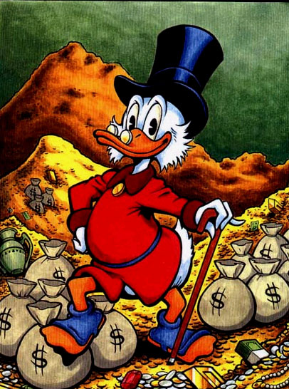 Image result for scrooge mcduck