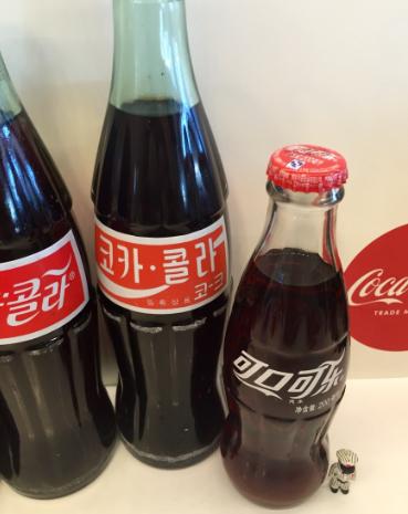 Figura 6: Embalagens refrigerantes da marca Coca-Cola fabricados na China.