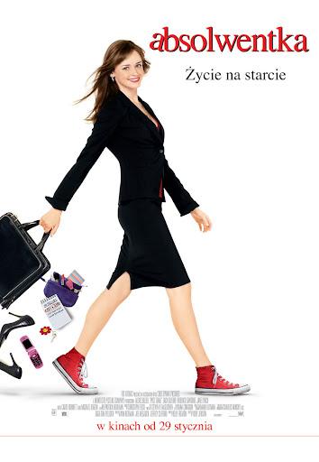 Polski plakat filmu 'Absolwentka'