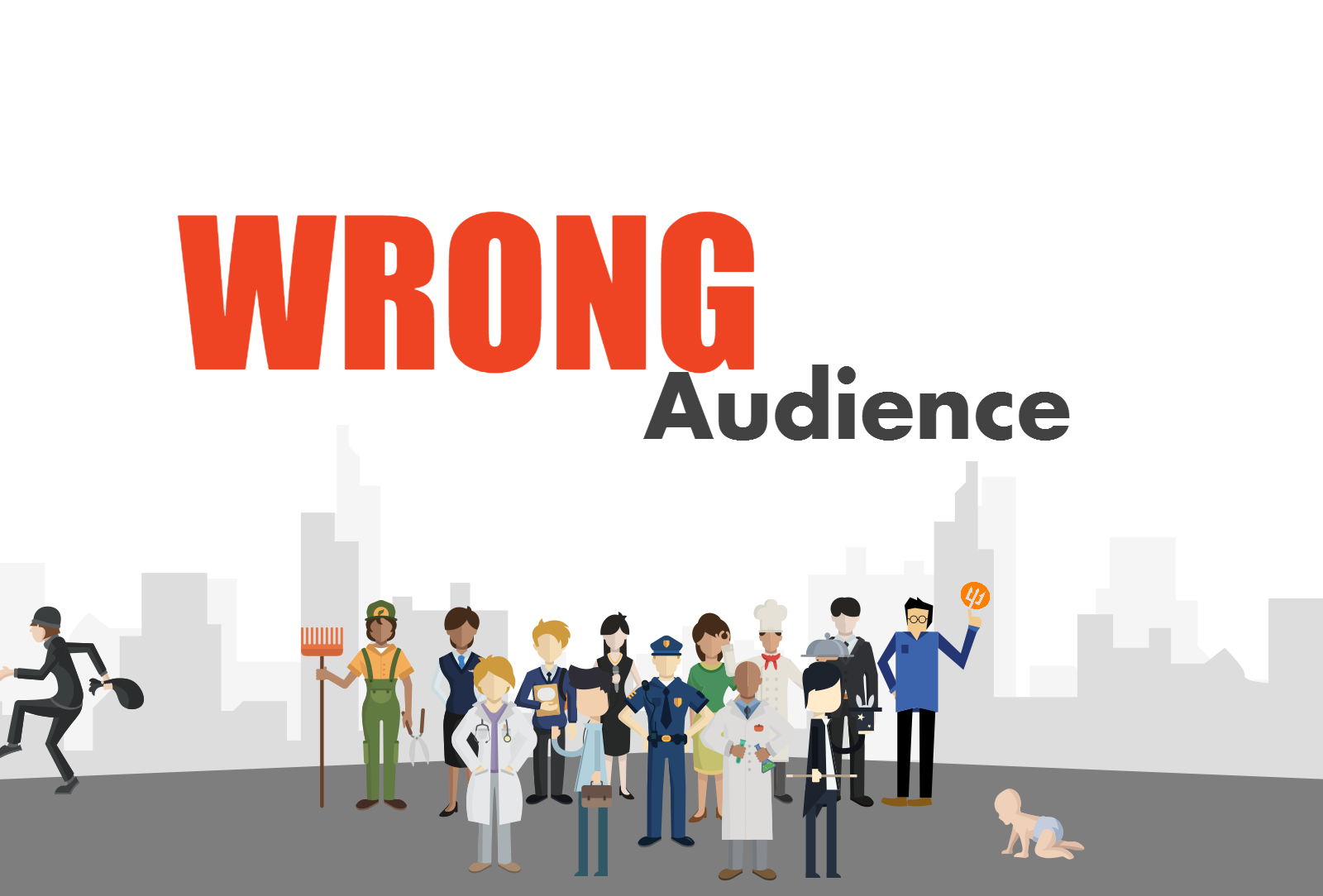 Make sure you are pointing to the right audience