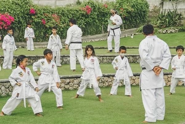 kids destination bali - karate class at jimbaran hub