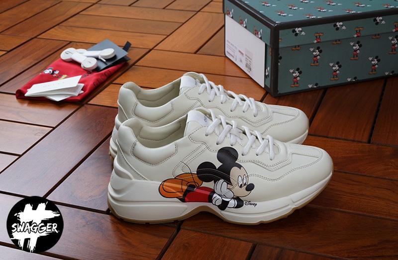 Gucci Rhyton Mickey Mouse Like Auth chắc chắn sẽ khiến các bạn nữ điêu đứng