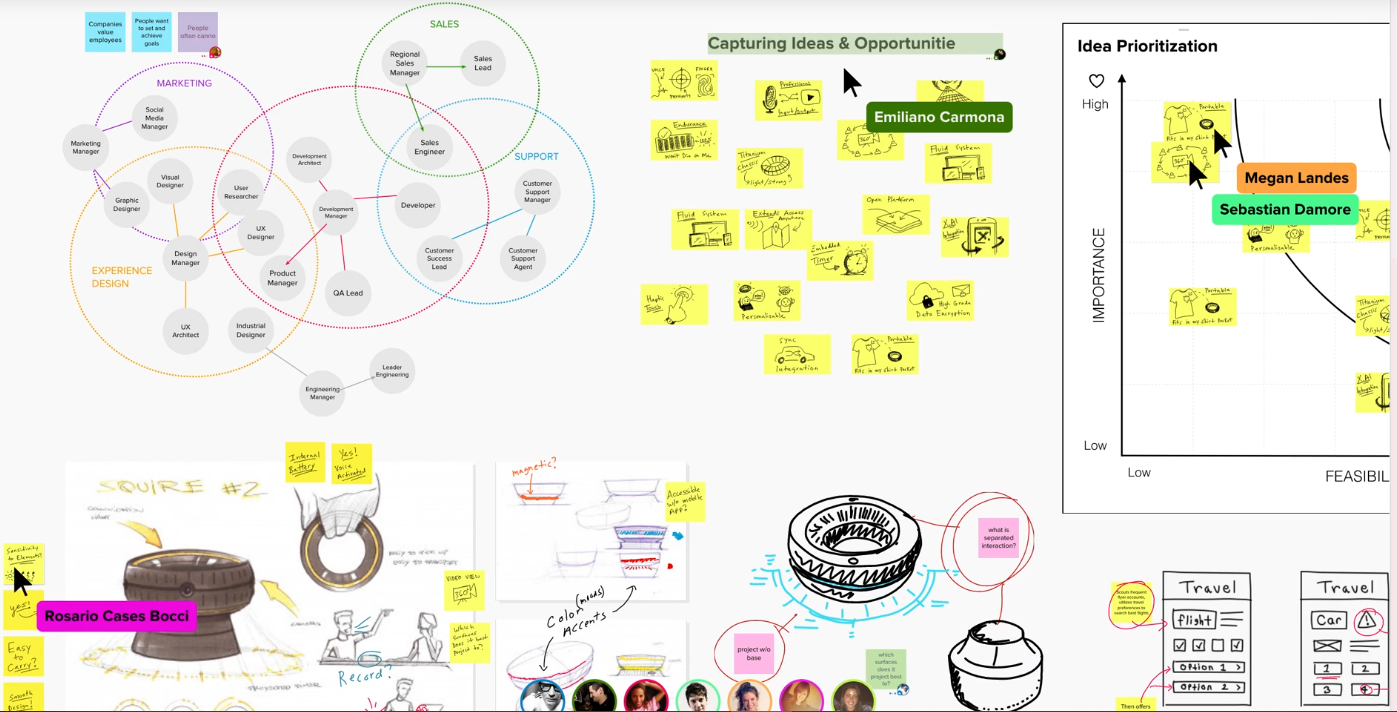 Mural Design Thinking Tool Screenshot