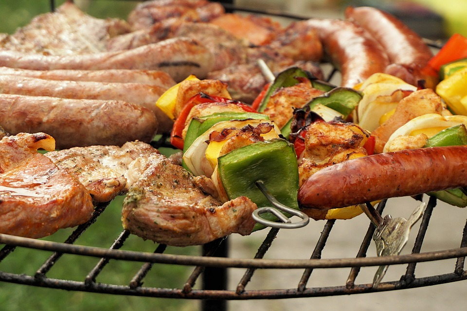 Grill, Meat, Barbecue, Grilled, Summer, Grilled Meats