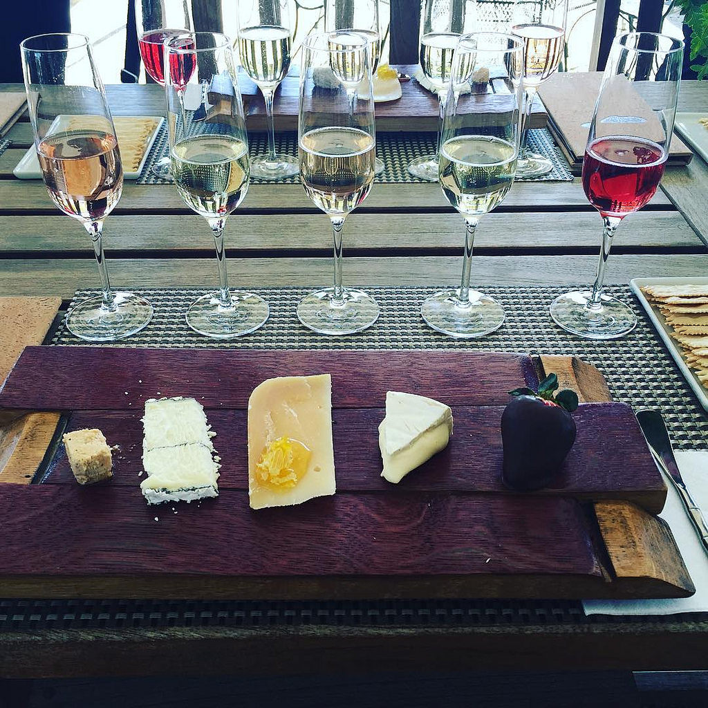 A tasting of Sonoma's Wine and Cheese