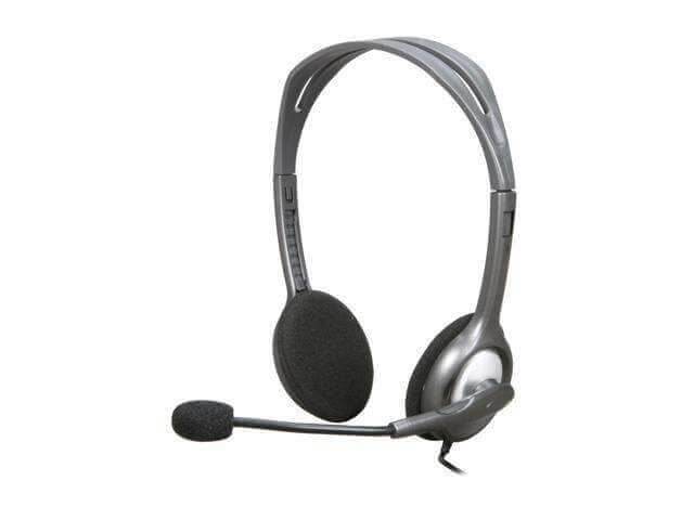 Logitech H110 Stereo Headset, Wired Headphones